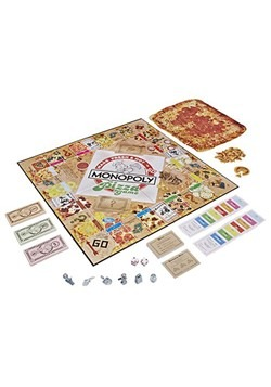 Monopoly Pizza Board Game