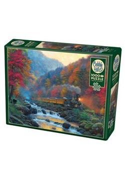 Smoky Train 1000 Piece Cobble Hill Puzzle