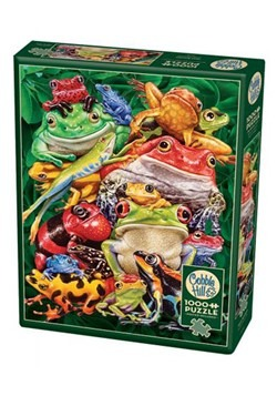 Frog Business 1000 Piece Cobble Hill Puzzle