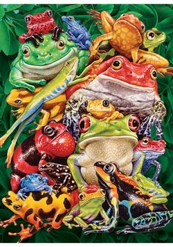 Frog Business 1000 Piece Cobble Hill Puzzle Alt 1