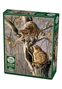 Raccoon Raiders 1000 Piece Cobble Hill Puzzle