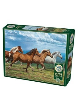 Windswept Horses 1000 Piece Cobble Hill Puzzle