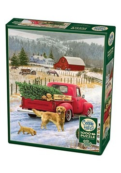 Roosters 1000 Piece Cobble Hill Puzzle