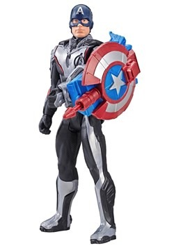 Avengers: Endgame Titan Hero Power FX Captain America 12-Inc