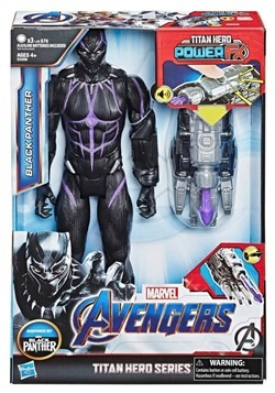 Avengers: Endgame Titan Hero Power FX Black Panther 12-Inch
