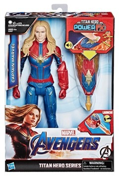 Avengers: Endgame Titan Hero Power FX Captain Marvel 12-Inch