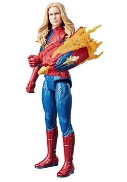 Avengers: Endgame Titan Hero Power FX Captain Marvel 12-Inch