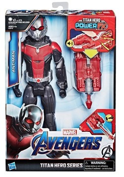 Avengers: Endgame Titan Hero Power FX Ant-Man 12-Inch Action
