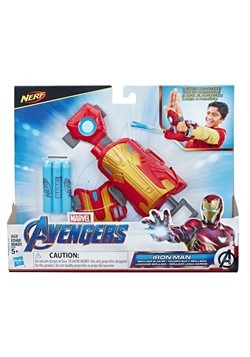 Avengers Iron Man Blast Repulsor Gauntlet with Nerf Darts