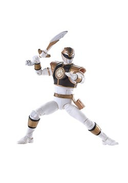 Power Rangers Lightning Collection White Ranger 6in Action F