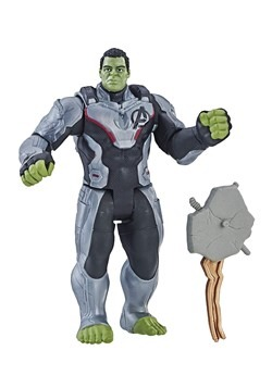 Avengers: Endgame Hulk Team Suit Deluxe Action Figure
