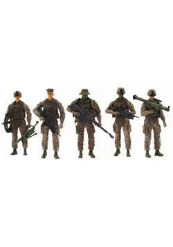 Marine Force Recon Figures 5-Pack Alt 1