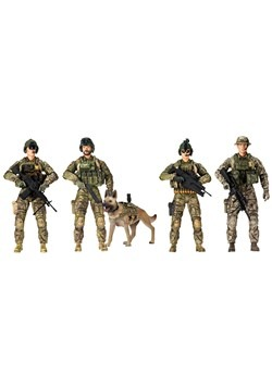 Army Ranger Figures 5-Pack Alt 1