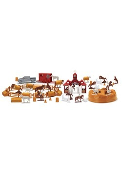 Bucket of Horses Toy Set Alt 1