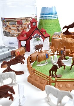 Bucket of Horses Toy Set Alt 3