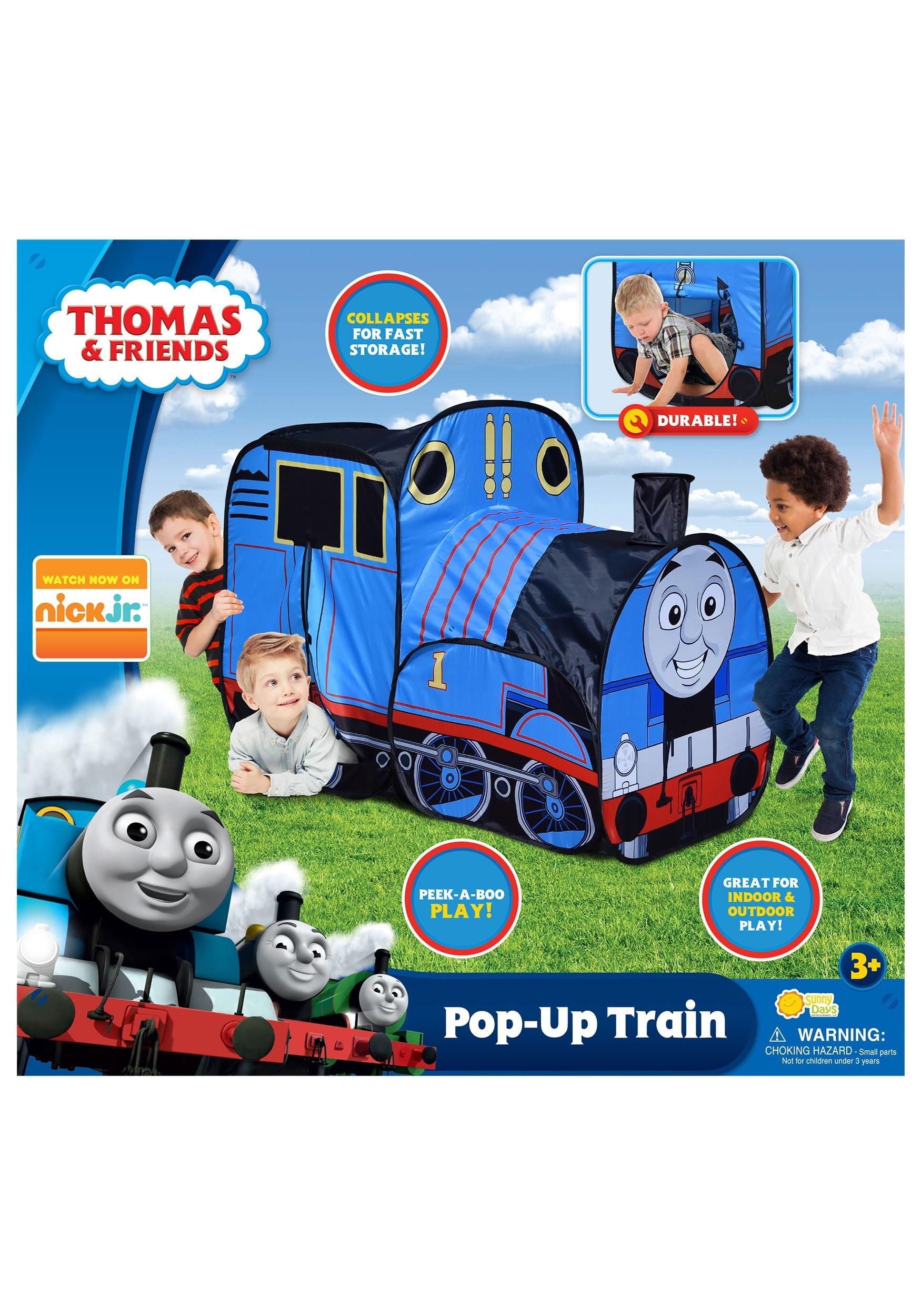 Thomas The Tank Engine Pop Up Train Play Tent
