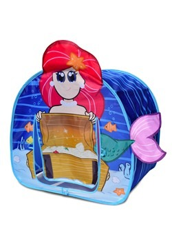 Mermaid Undersea Adventure Pop-Up Play Tent