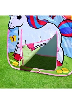 Unicorn Rainbow Dream Pop-Up Play Tent Alt 2