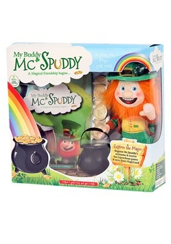 My Buddy McSpuddy Book Box For Kids
