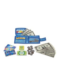 Melissa & Doug Pretend to Spend Play Wallet Alt 1