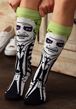 Classic Films Beetlejuice 360 Character Crew Sock