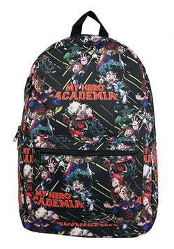 My Hero Academia All Over Print Sublimated Backpac Alt 1