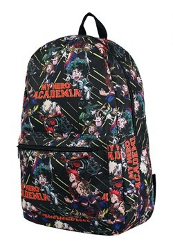My Hero Academia All Over Print Sublimated Backpac Alt 2