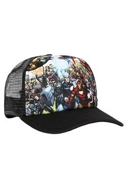 MARVEL Hero Collage Trucker Hat