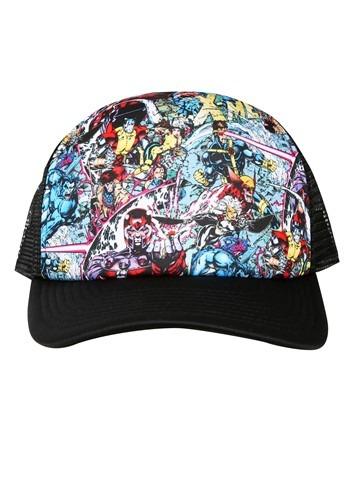 X-Mens 90s Comic Art Trucker Hat