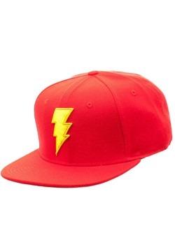 Shazam Logo Snapback Hat Alt 1