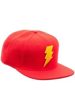 Shazam Logo Snapback Hat Alt 2