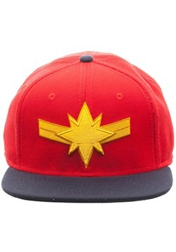 Captain Marvel Snapback Hat