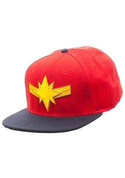 Captain Marvel Snapback Hat Alt 1