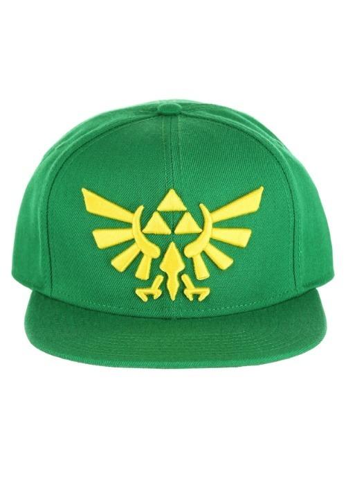Nintendo Zelda Green Snap Back Hat
