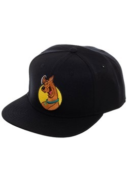 Scooby Doo Black Snapback Hat