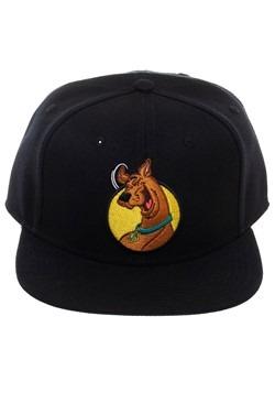 Scooby Doo Black Snapback Hat Alt 1
