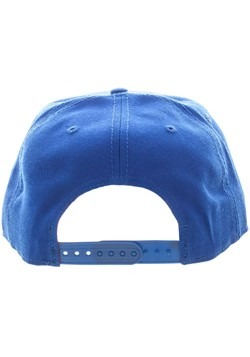 Superman Blue Snapback Hat Alt 3