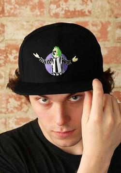 Beetlejuice Black Snapback Hat