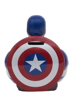 Marvel Captain America Ceramic Bank Alt 1