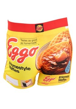 Crazy Boxers Mens Retro Eggo Boxer Briefs Alt 1