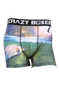 Crazy Boxers Fishing Outdoors Mens Boxers Briefs