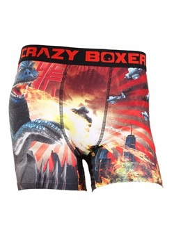Crazy Boxers Toy Godzilla Mens Boxers Briefs