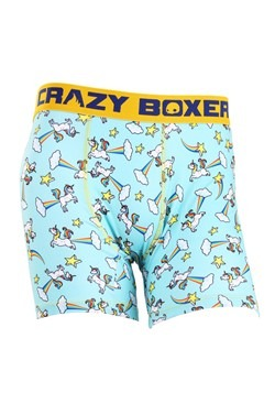 Crazy Boxers Farting Unicorn Mens Boxers Briefs
