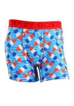 Crazy Boxers Rocket Pops Men's Boxer Briefs