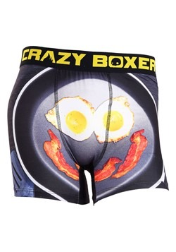 Crazy Boxers Wakey Wakey Eggs n Bacon Men's Boxer