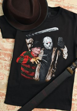 Jason Freddy Selfie Black T-Shirt