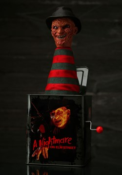Nightmare on Elm Street Freddy Krueger Burst a Box