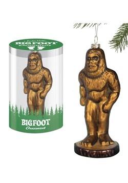 Bigfoot Glass Ornament