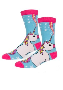 Unicorn Womens Crew Socks