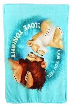 "Lion King Feel the Love 40"" x 60"" Super Soft Throw"
